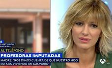 «Sospechamos cuando el niño nos decía que no le agarráramos del cuello»: el desgarrador relato en 'Espejo Público'