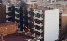 El incendio que destrozó el bloque de San Juan de Letrán fue provocado con gasolina
