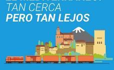 El movimiento 'Quiero Corredor' reclama en Granada el fin de aislamiento ferroviario