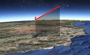 Un meteorito sobrevuela Granada a 100.000 kilómetros por hora