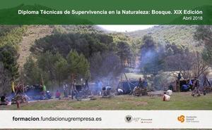 Último día de inscripción para el diploma de Técnicas de Supervivencia en la Naturaleza