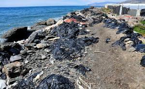 La mitad de los residuos en las ramblas de Granada y Almería son plásticos