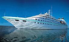 Hace escala en Almería el MS Star Pride, un crucero de auténtico lujo