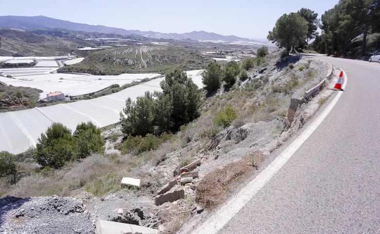 Las imágenes del precipicio en la carretera de La Gorgoracha