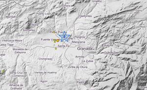 Cuatro terremotos sacuden la provincia de Granada en la tarde del viernes