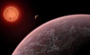Sospechan que existe agua en los planetas de Trappist-1