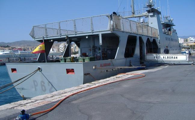 Inspección, vigilancia y apoyo a las actividades de pesca marítima
