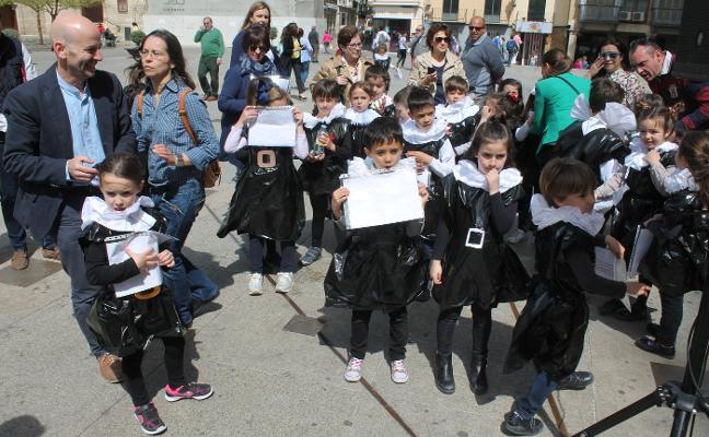 Un millar de jóvenes quijotes