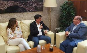 Javier Márquez, sobre las municipales en Jaén: «Yo no daría por hecho que va a haber un pacto PP-Ciudadanos»