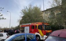 Descubren doscientas plantas de marihuana tras apagar un incendio en un piso de Granada