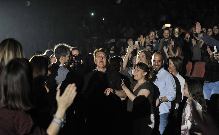 Así fue el concierto de Manolo García