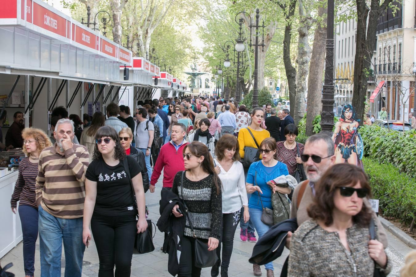 Comienza la Feria del Libro de Granada de 2018