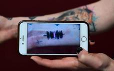 Sonidos tatuados en la piel, una nueva onda en EE UU
