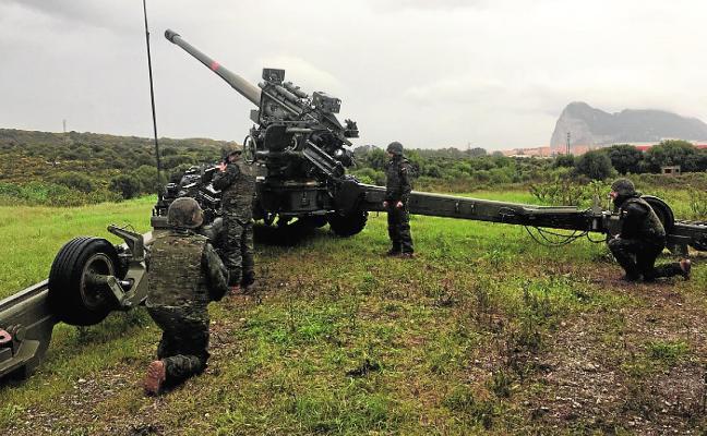 Integración de La Legión en una Unidad de Defensa de Artillería Antiaérea de Costa