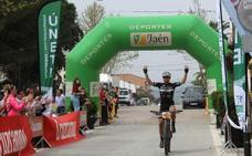 El ciclista José Luis Carrasco gana el inicio de la Copa Diputación de Jaén de Maratón