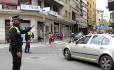 Trabajo extra para la Policía Local en la zona peatonal