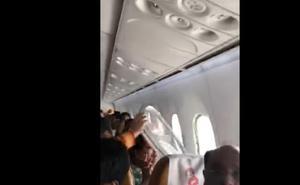 Pánico en el avión: una ventanilla salta en pleno vuelo por las turbulencias