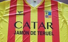 Expulsan de Alimentaria a 3 personas con camisetas con la bandera de Aragón y el lema 'Catar jamón de Teruel'