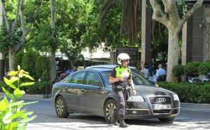 La Policía Local controla desde hoy el acceso a zonas del centro de Jaén restringidas al tráfico