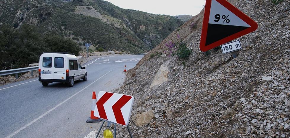 La carretera de Granada con un abultado historial de siniestros: «Cada vez que hay un accidente, se nos encoge el corazón»