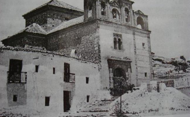 La ermita de la Virgen de la Salud, historia de Laujar
