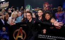 Las mejores imágenes de la premiere mundial de 'Vengadores: Infinity War'