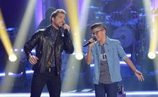 Bisbal reaparece en 'La Voz Kids' y arrasa