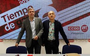 Los sindicatos avisan: o se alcanzan acuerdos en la negociación o habrá «conflicto»