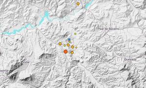 Jódar tiembla con un terremoto de 3.7 grados