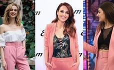 El secreto del éxito del traje rosa de Zara: ¿por qué lo llevan muchas famosas?