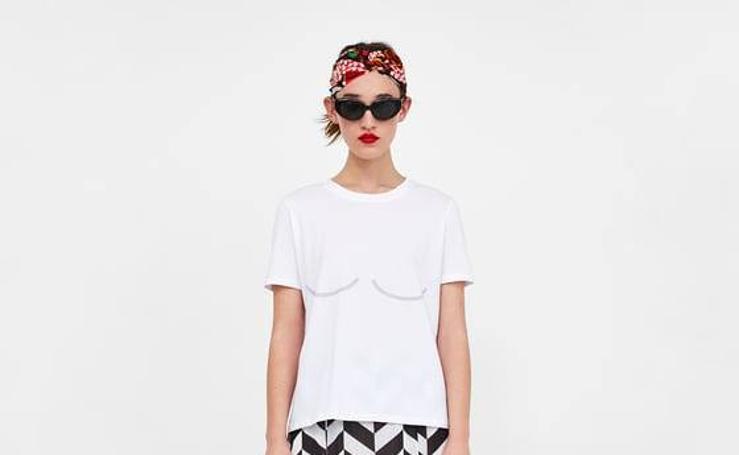 La última y peculiar elástica de Zara: La 'camiteta'
