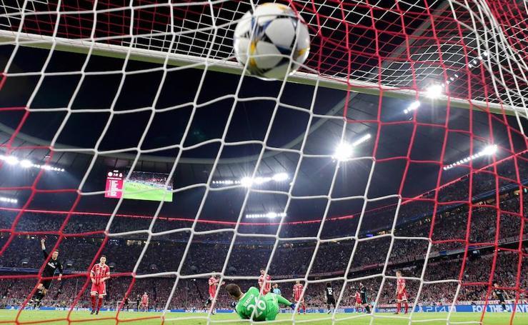 Las mejores imágenes del Bayern 1-2 Real Madrid