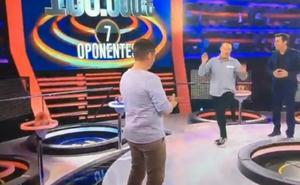 «De pena»: lo ocurrido con un concursante en 'Ahora Caigo' incendia las redes
