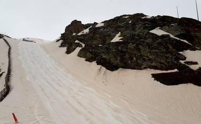 El Sáhara se hace notar en Sierra Nevada