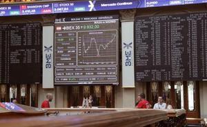 El Ibex-35 mantiene los 9.800 pese a la corrección motivada por los bonos