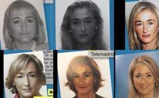 El vídeo de las 6 fotos: el enorme cambio en la cara de Cristina Cifuentes desde 1994