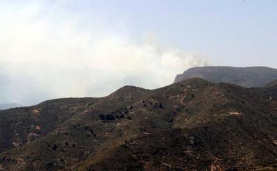Extinguido el incendio forestal de Felix, que ha calcinado 150 hectáreas