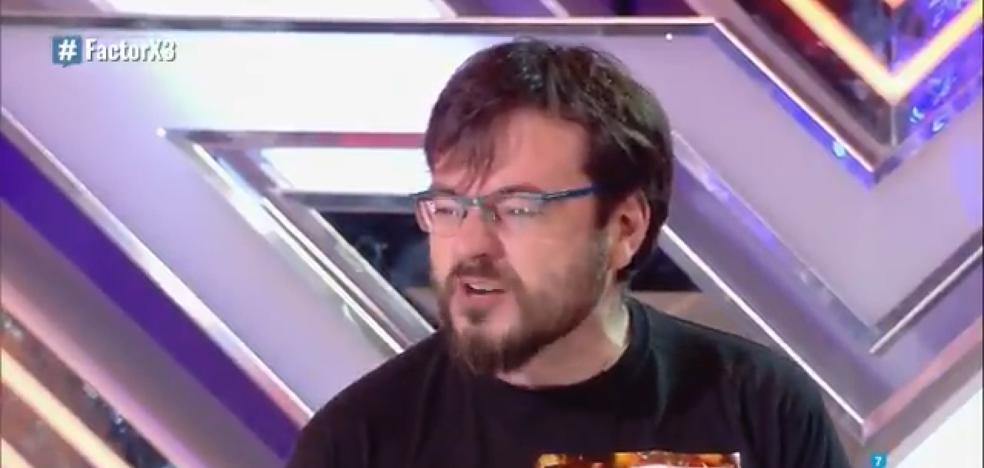 Sorpresa en 'Factor X' por la surrealista actuación de otro participante 'friki'