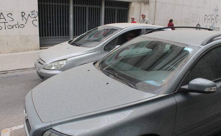 Llueve 'barro' en Jaén