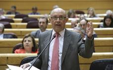 Montoro defiende en el Congreso los Presupuestos, que necesitan al PNV