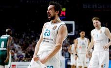 El Madrid, a una victoria de la Final Four, celebra el regreso de Llull