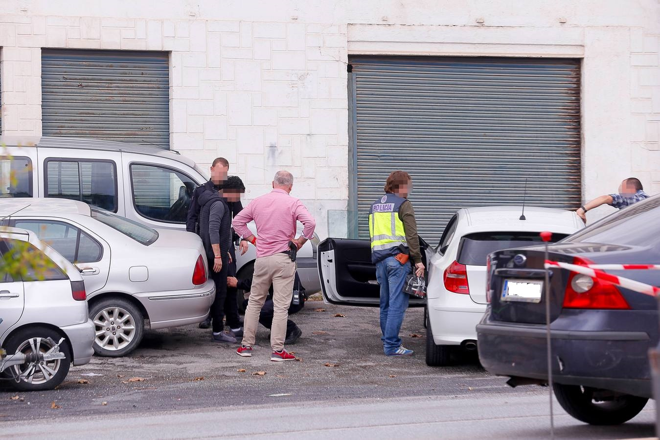 Espectacular operación policial en la entrada de Motril