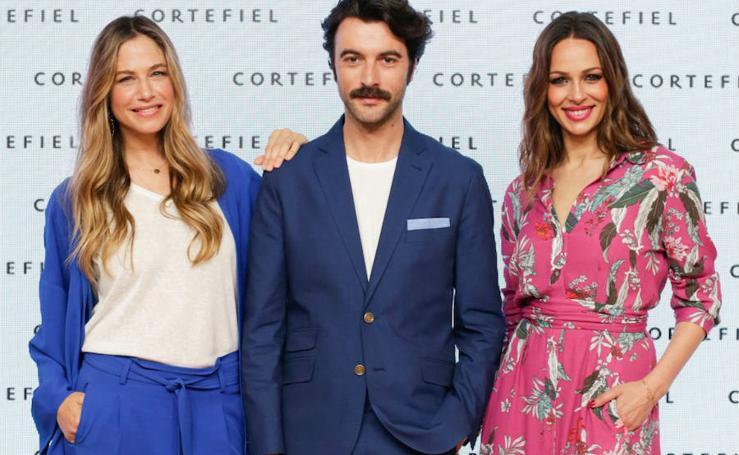 El vestido que Eva González luce para Cortefiel