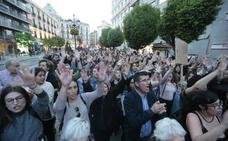 Protesta masiva en las calles de Granada contra la sentencia a 'La Manada'