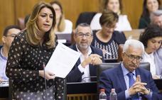 Susana Díaz anuncia que aplicará el IPC por ley a la subida de pensiones asistenciales