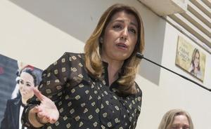 Susana Díaz dice que «ni comprende ni comparte» la sentencia a 'La Manada'
