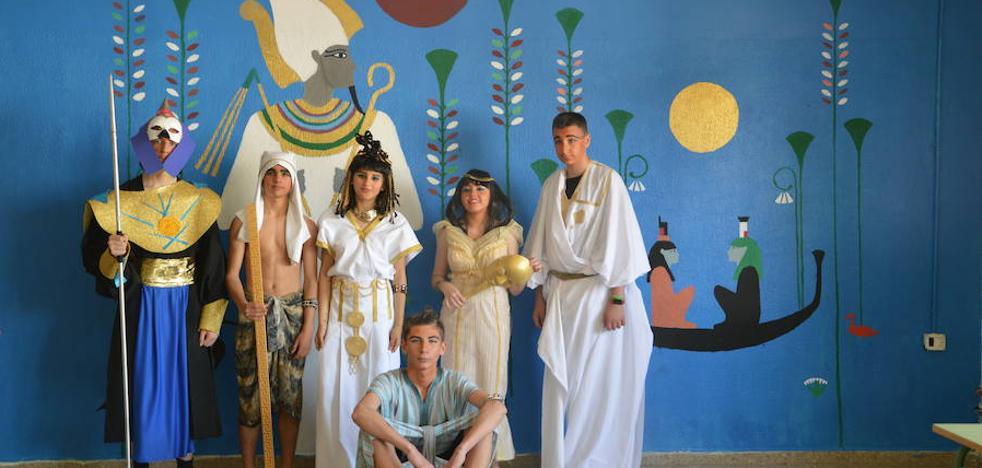 Un viaje de estudios a Egipto sin salir del instituto