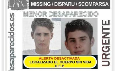 Hallan muerto al chico de 17 años desaparecido en Málaga