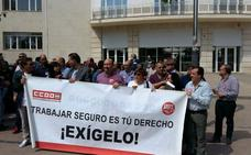 UGT y CC OO agitan el 1 de Mayo en el Día contra la Siniestralidad Laboral