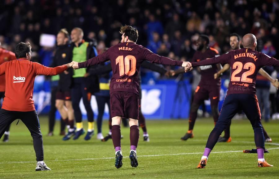 Las mejores imágenes de la celebración del título de Liga del Barcelona